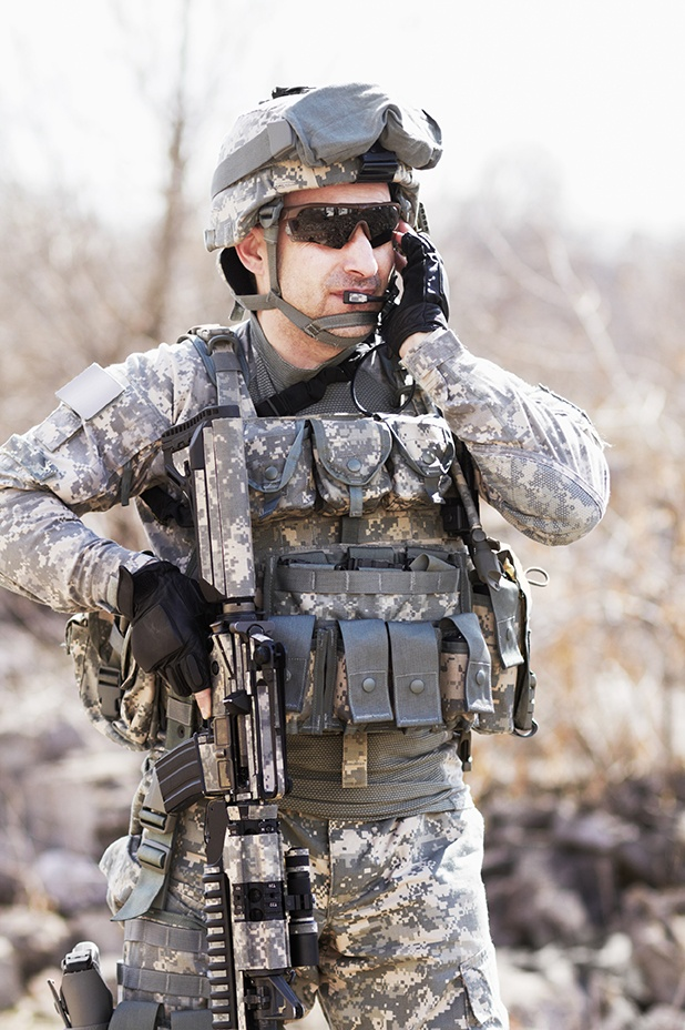 Mil-Spec connectors for soldier-worn technology