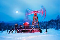 Connector for cold temperatures - oil rig