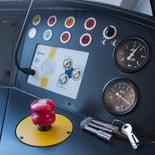 train control panel