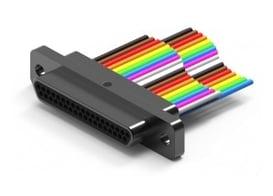 Ulti-Mate Wired Hi-Temp M83513 Micro-D Connectors